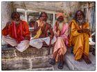 Gruppe Männer in Udaipur...