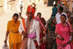 Gruppe street India Rajasthan
