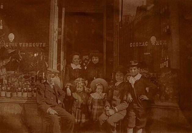 Gruppenbild aus der Belle Époque