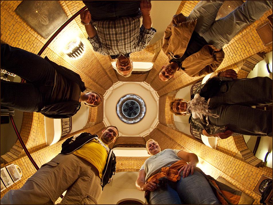 Gruppenbild im Dome