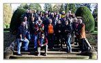 Gruppenbild im sonnigen Herbst