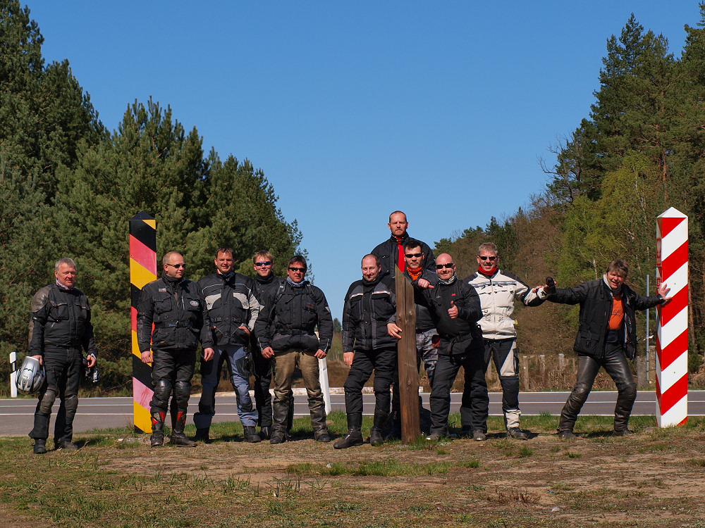 Gruppenbild MEC POM Moped-Tour 2009 BF Hamburg