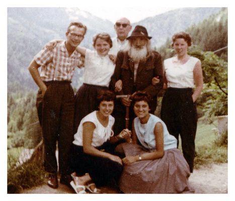Gruppenbild mit Almöhi