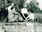 Gruppenbild um 1950