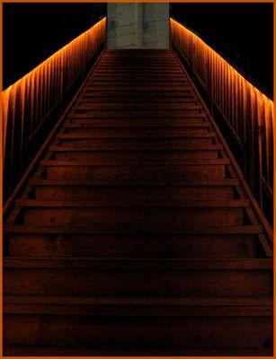 Grusel-Treppe