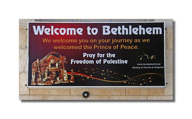 Gruß aus Bethlehem ...