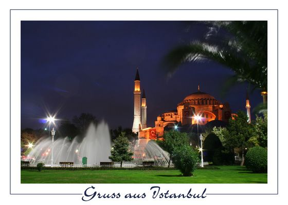 Gruss aus Istanbul