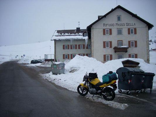 GS 500 - Mit dem Motorad durch die Dolomiten.