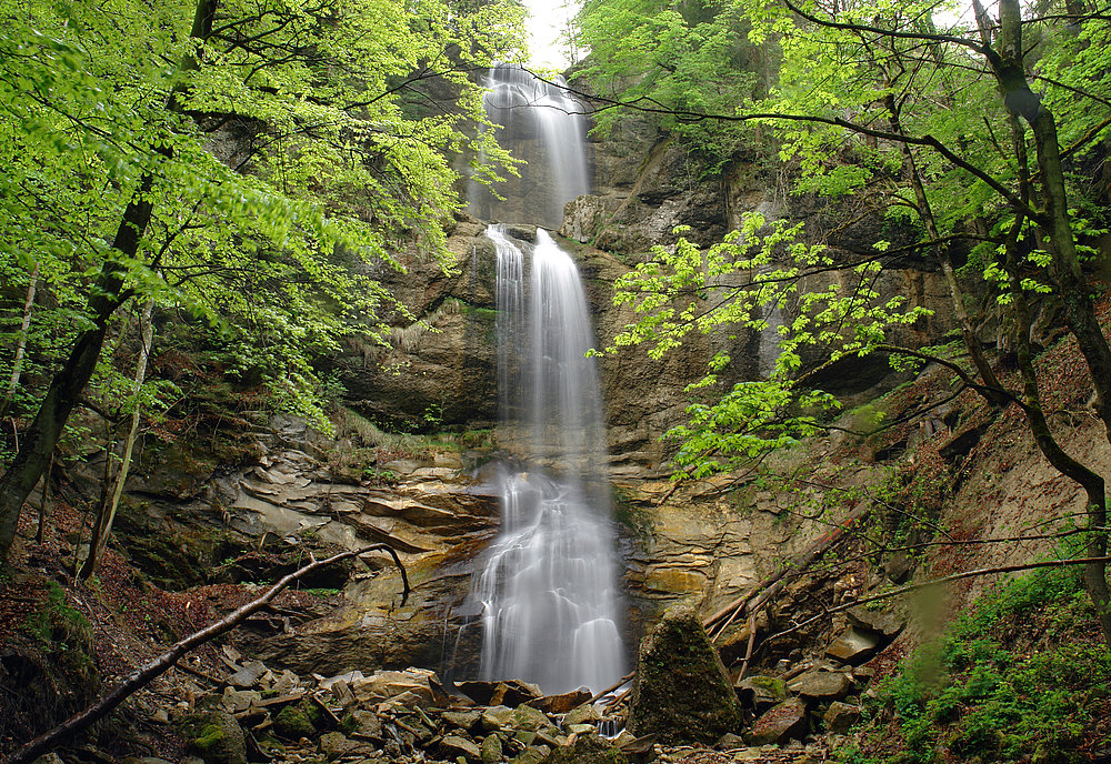 Gschwender Wasserfall 2