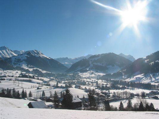 Gstaad - ein Wintermärchen