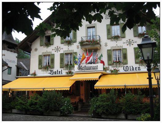 Gstaad - Haus von Bernie Ecclestone