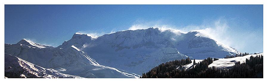gstaad, schweiz - bergpanorama II