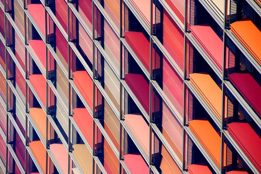 GSW Hochhaus Berlin - Detailaufnahme