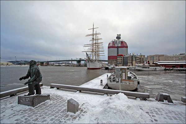 Gøteborg im Januar