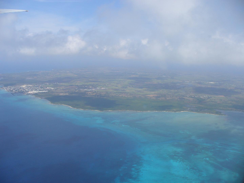 Guadeloupe von oben :-)