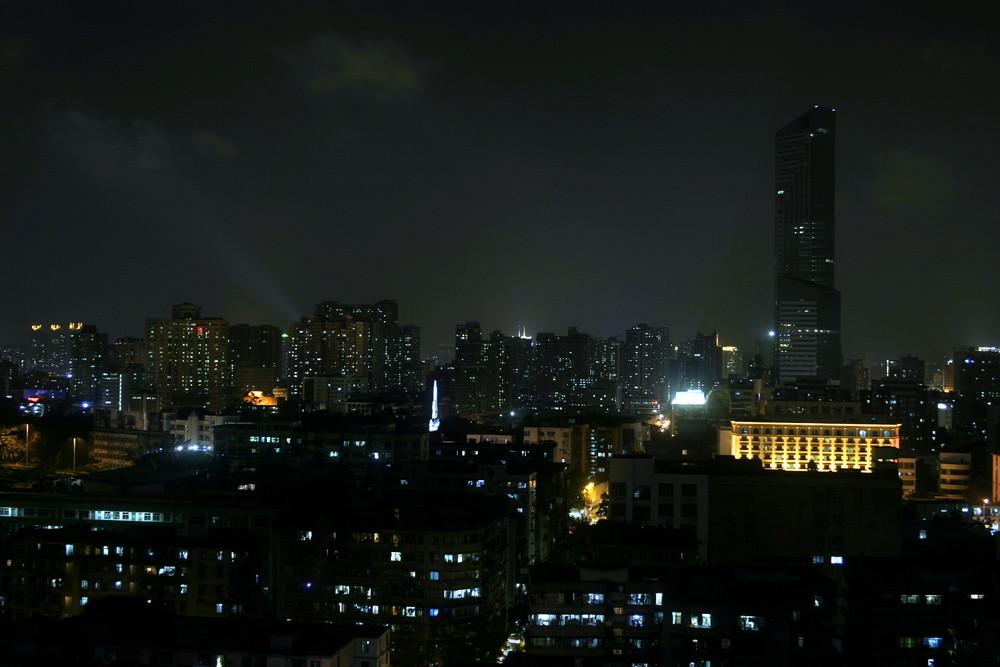 Guangzhou im Mondlicht