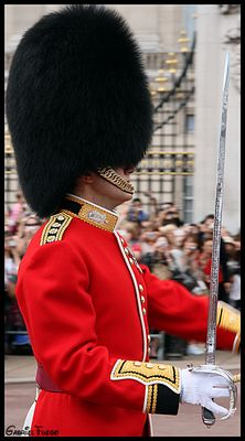 GUARD ON THE MARCH