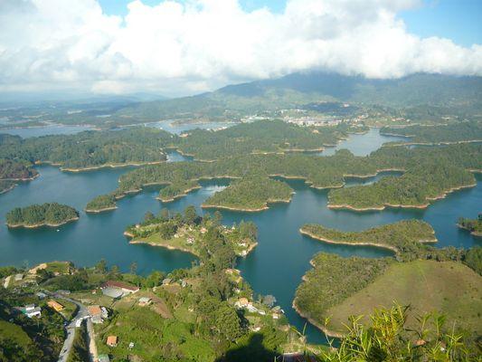 Guatapé, departamento de Antioquia - Colombia, Suramérica