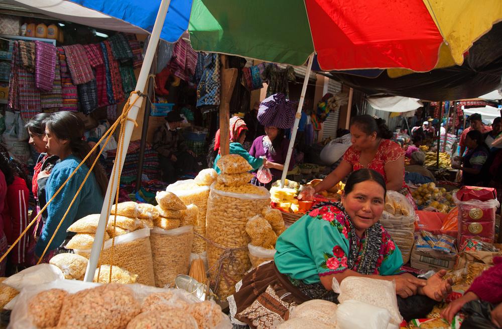 Guatemaltekische Marktimpressionen
