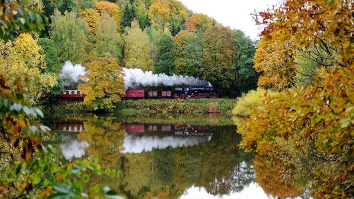 Güntersberge in Autumn
