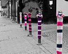 Guerilla Knitting in Essen-Borbeck