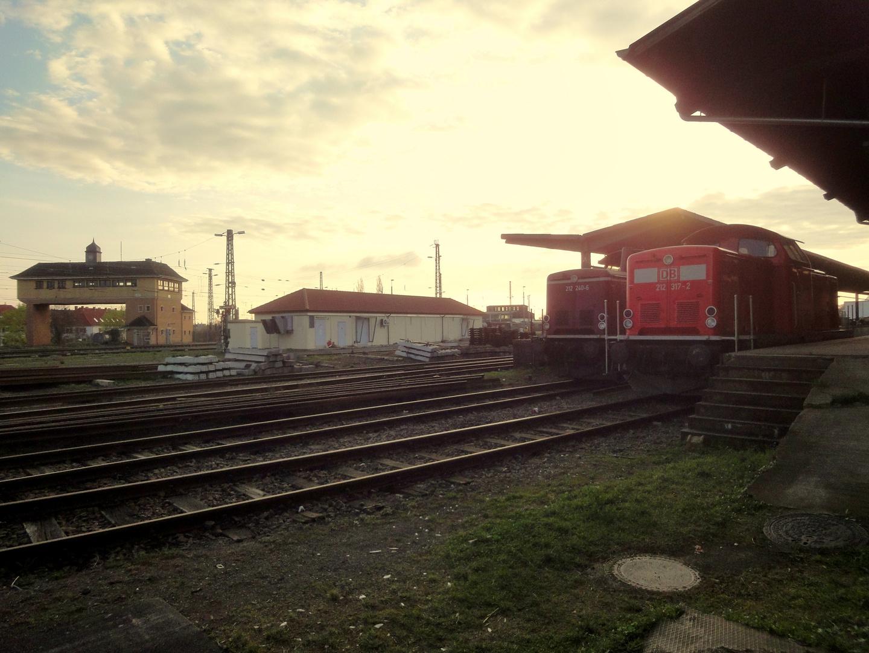 Güterbahnhof Neustadt/Weinstraße