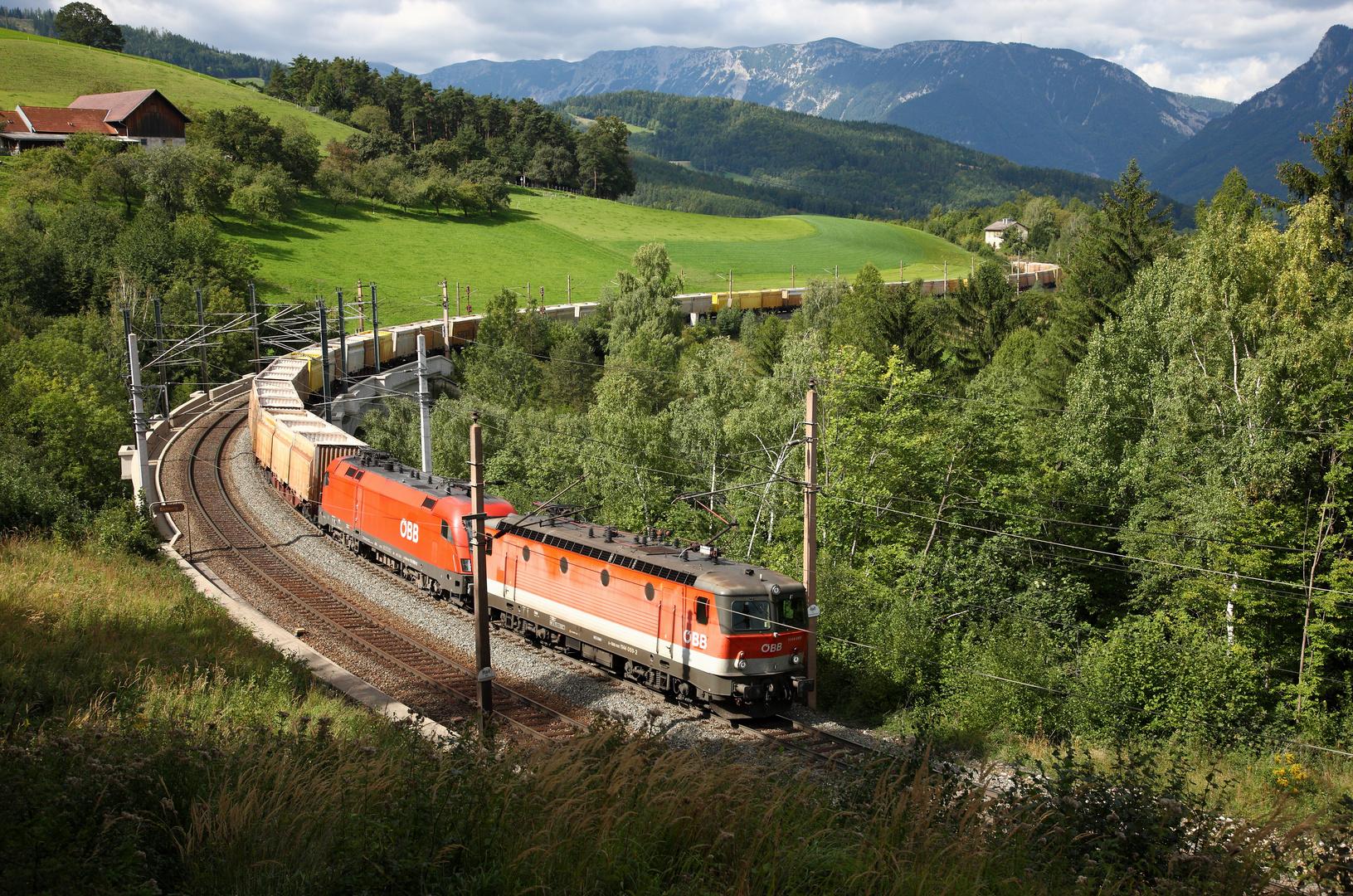 'Gütertransport am Semmering'