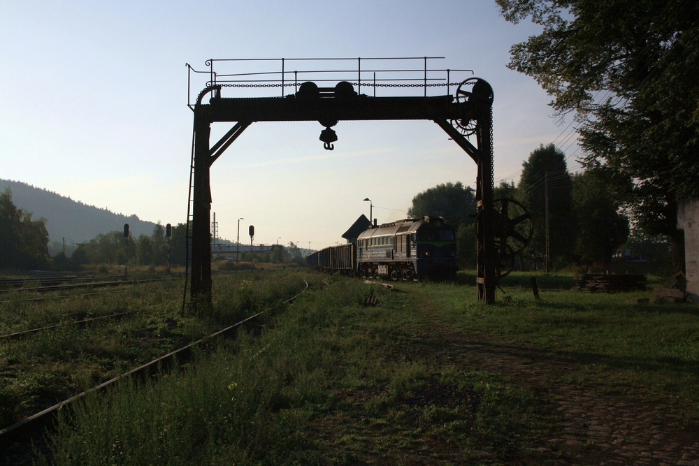 Güterverkehr im Eulengebirge