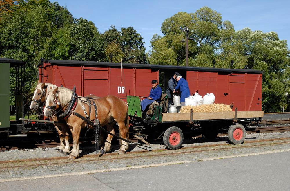 Güterverkehr im Preßnitztal