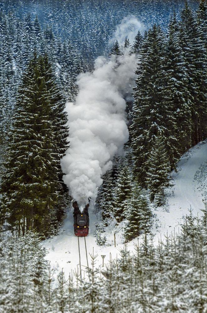 Güterverkehr im Tiefenbachtal