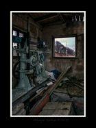 Güterwagen Gleiswaage