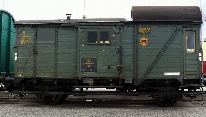 Güterwagen Ilmenau