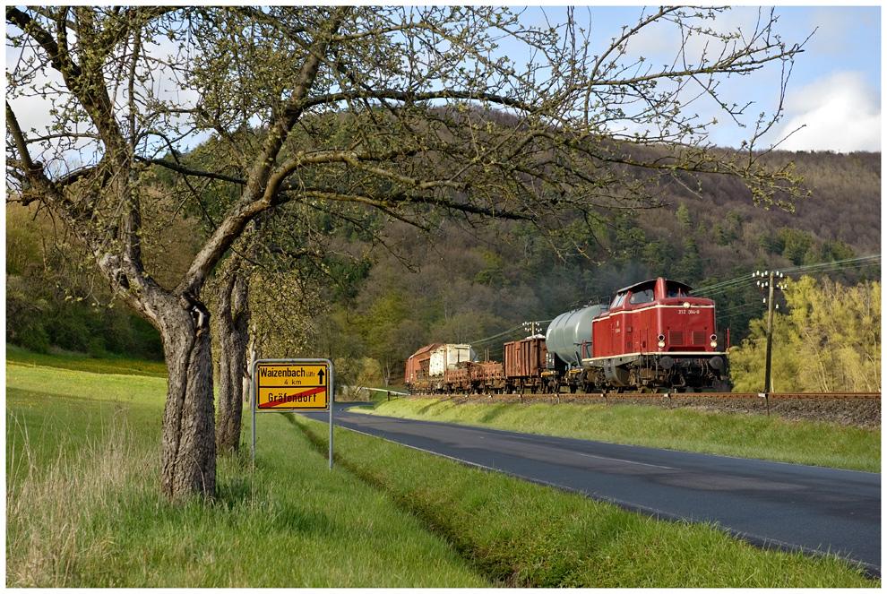 Güterzug alla DB