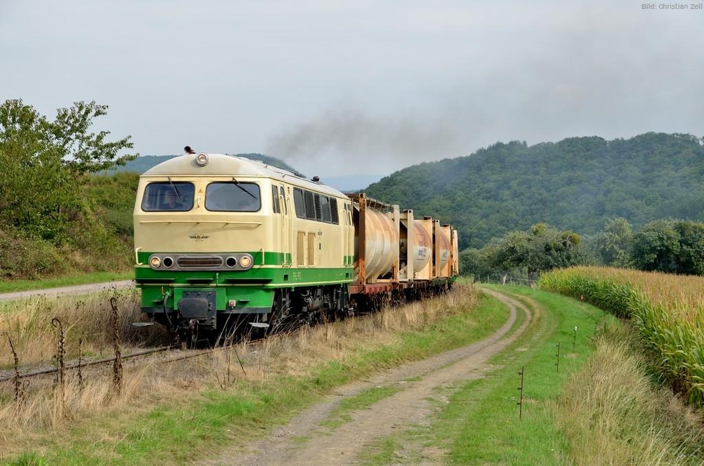 Güterzug auf 1000mm