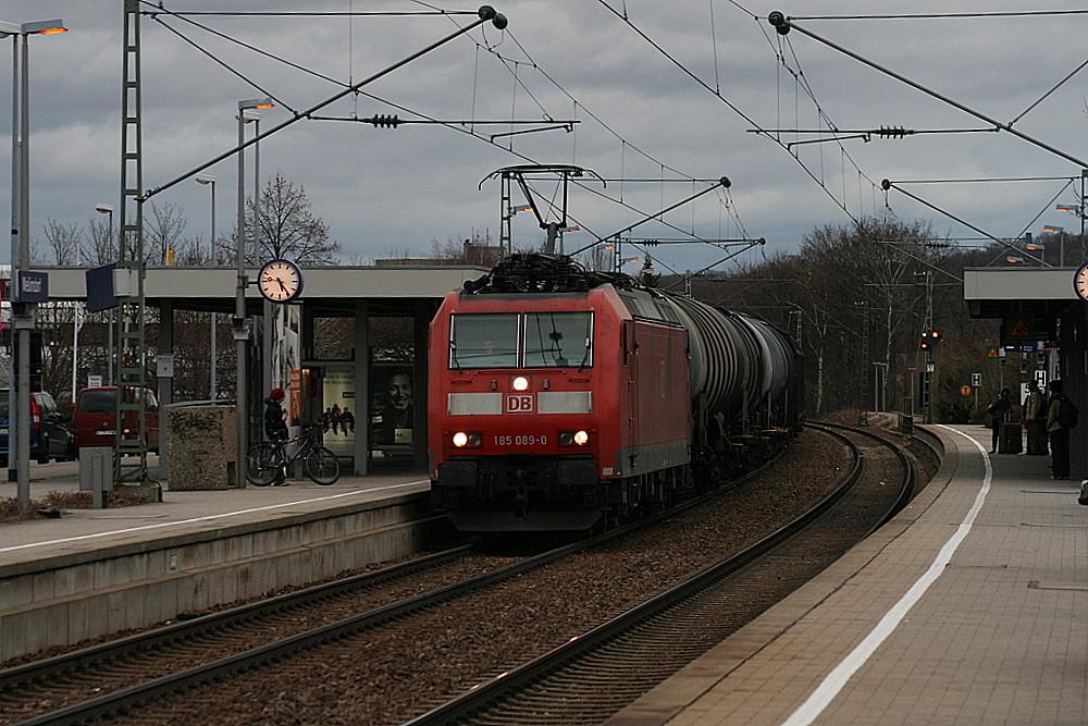 Güterzug in Weilimdorf
