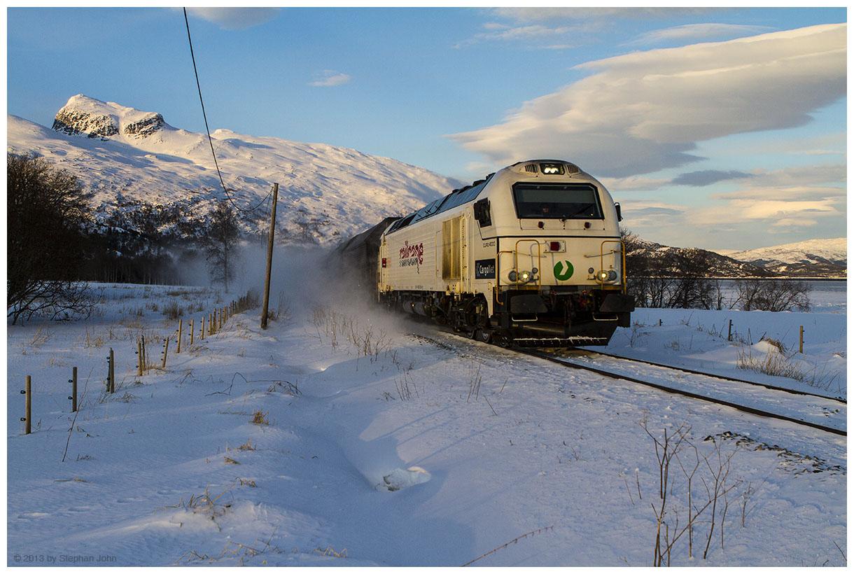 Güterzug nach Bodø