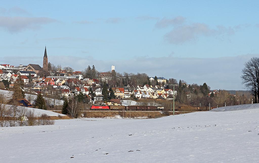 "Güterzug ""vor"" Sankt Georgen"
