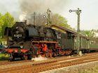 Güterzuglok BR 50 3552 Ausfahrt Stockheim / Oberhess.