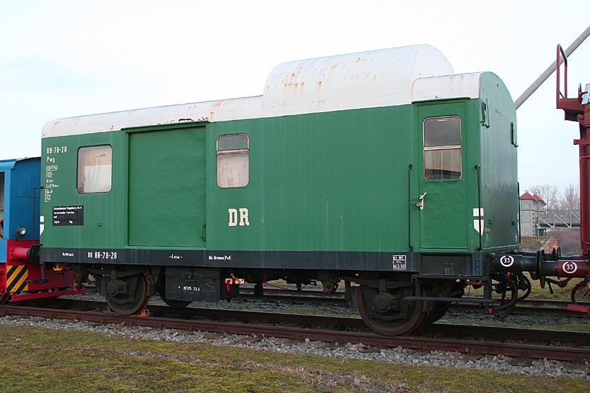 Güterzugpackwagen der Gattung Pwg 88