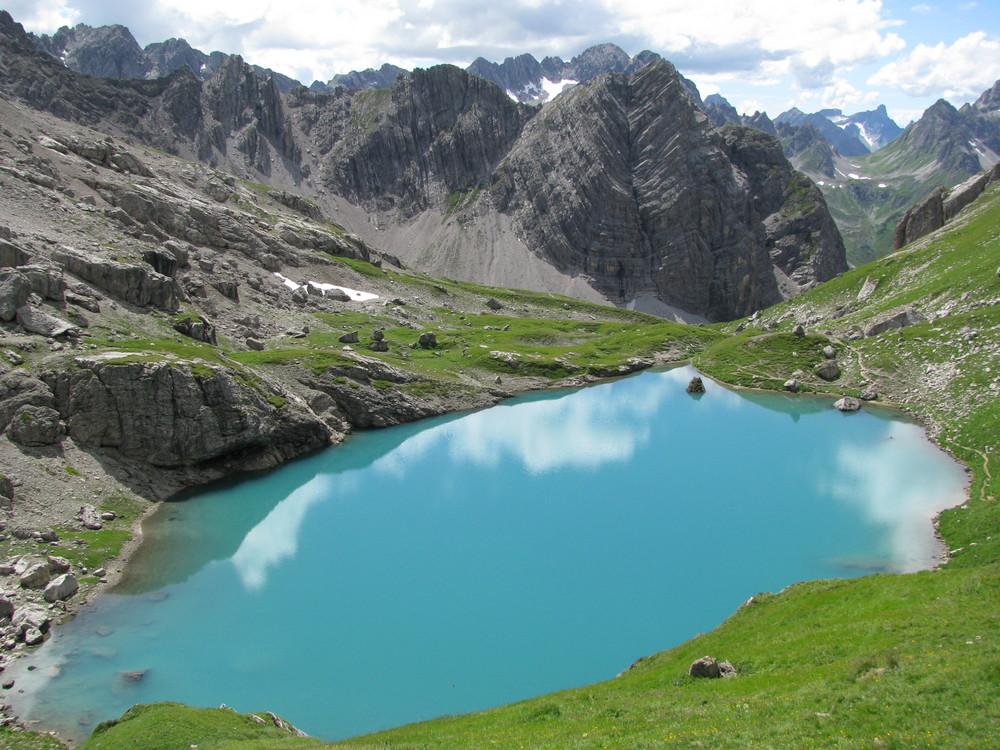 Gufelsee, Lechtaler Alpen