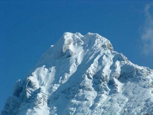 Guffert Gipfelregion