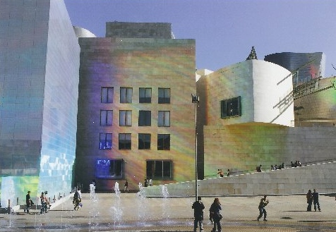 Gugenheimmuseum in Bilbao Spanien