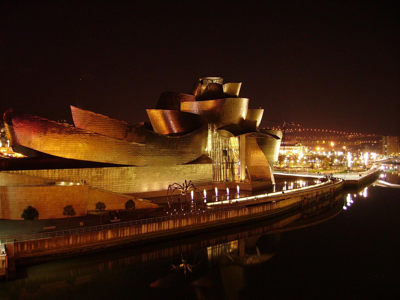 Guggenheim Bilbao nocturno