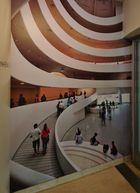 """"""" Guggenheim durchs Fenster """""""