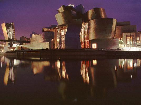 Guggenheim Museum in Bilbao, Baskenland