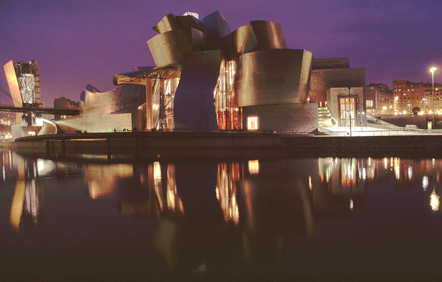 Guggenheimmuseum in Bilbao, Baskenland
