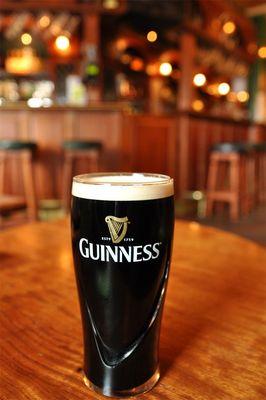 Guiness Bier im Irischen Pub
