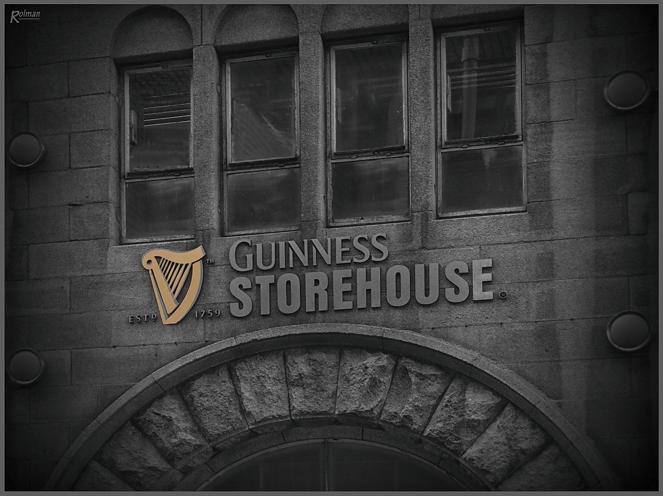 Guinness-Brauerei in Dublin