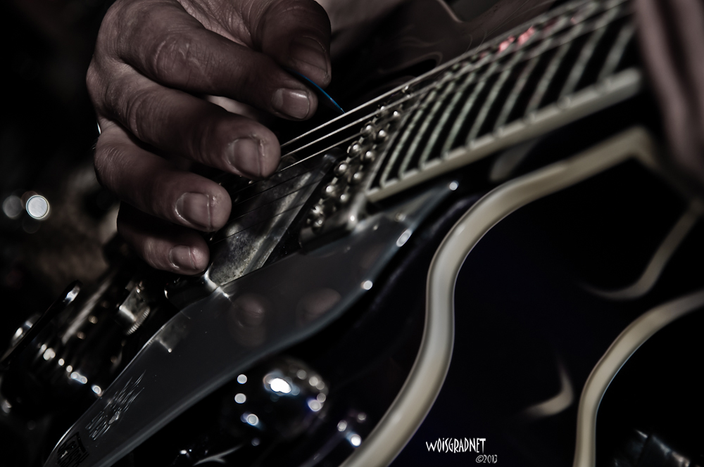 guitar in action