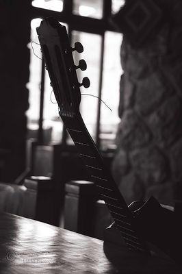 Guitar in B&W